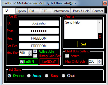 nimbuzz:badbuzz mobile server v5.1 Fullscreen-capture-1192016-115943-am-bmp